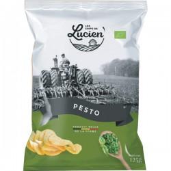 Chips Belge de la ferme pesto 125g
