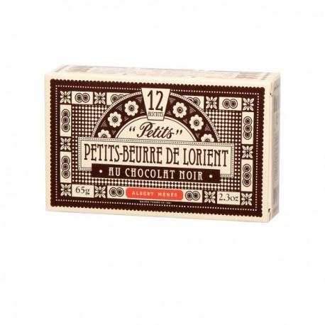 Petits Beurre Lorient Sel&Choc.Noir 65g