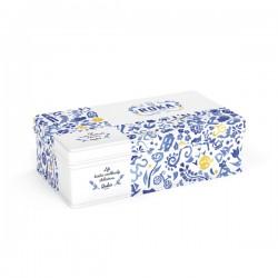 Cheese Crispies Gouda Delfts Blauw Giftset 70g