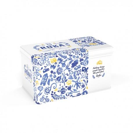 Cheese Crispies Gouda Delfts Blauw Giftset 2x70g