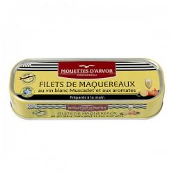 Makreelfilets met Muscadet Wijn 176g