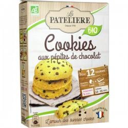 Préparation  pour cookies aux pépites de chocolat noir BIO 260g
