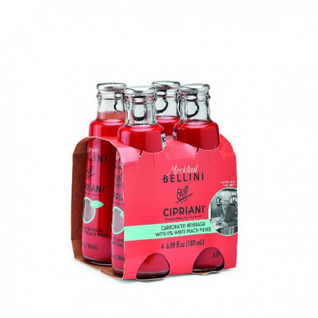 Mocktail Bellini alcoholvrij (4*180ml) 720 ml