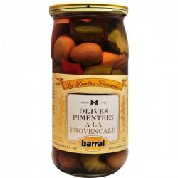 Olives pimentées à la Provençale 37cl