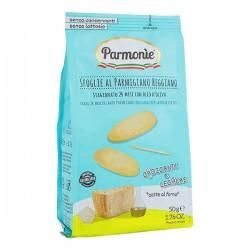Parmigiano Reggiano chips met extra zuivere olijfolie zakje 50g