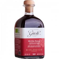 """Zoetzuur condiment """"Agrodolce"""" met rode bessen BIO 250ml"""