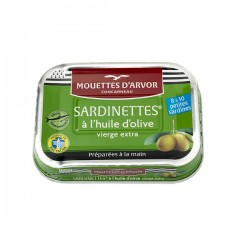 Sardinettes à l'huile d'olive 100g