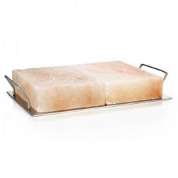 BBQ Pro duo zoutblok met houder 9.5kg