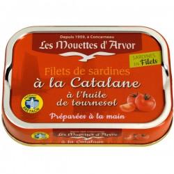 Sardienfilets op Catalaanse wijze 100g