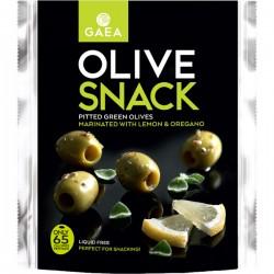 SnackP. Olives Vertes Dénoy. Origan & Citron 65g
