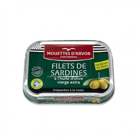 Sardienfilets in olijfolie 100g