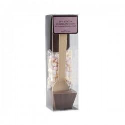 Warme melkchocolade lepel met marshmallows 60g