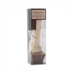 Warme caramel vanille chocolade lepel met marshmallows 60g