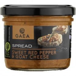 Tapenade au fromage de chèvre & poivrons 125ml