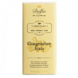 Chocolat Noir Gingembre frais 70g