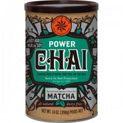 Power Chai with Matcha (glutenvrij-vegan) 398g