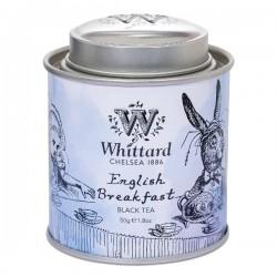 Alice in Wonderland  Tea party English Breakfast mini caddy 50g