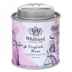 Alice in Wonderland Koningin English rose mini caddy 40g