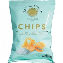 Chips à la Fleur de Sel 45g