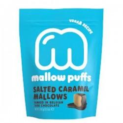 Vegan Gezouten Caramel Marshmallows In Donkere Chocolade  100g
