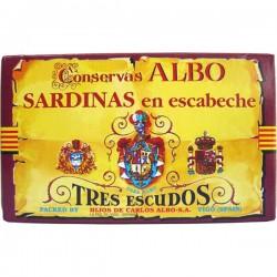 Sardienen met Escabèche saus 120gr