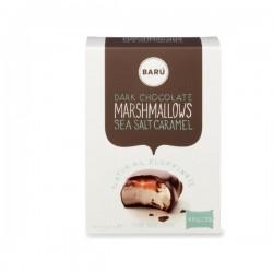 Donkere chocolade & zeezout caramel marshmallow 60g