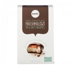 Donkere chocolade & zeezout caramel marshmallow 120g