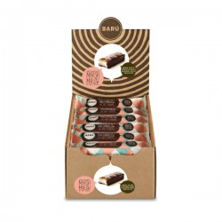 Donkere chocolade & zeezout caramel marshmallow bar 30g