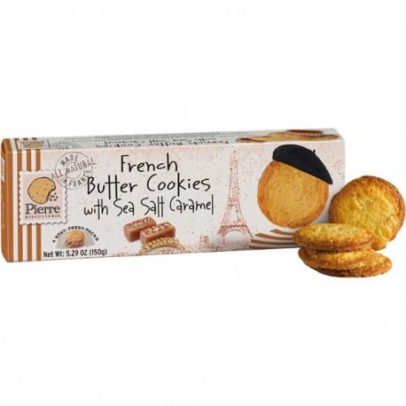 Franse Boterks gez. boter & caramel 150g