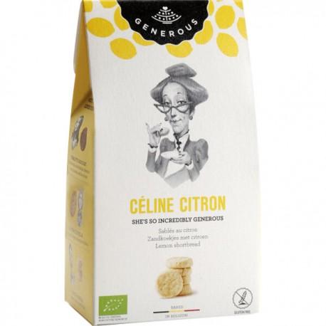 Céline Citron BIO (glutenvrij) 120g
