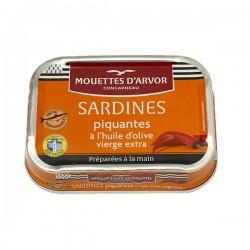 Sardines piquantes à l'huile d'olive 115g