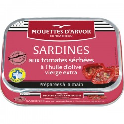Sardines Tomates séchées et Huile d'olive 115g