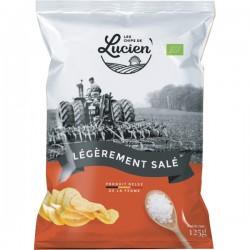 Belgische chips licht gezouten 125g