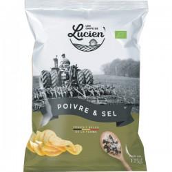 Chips Belge de la ferme poivre & sel 125g
