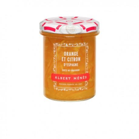 Marmelade d'Orange et de Citron d'Espagne Ecorces Fines 295g