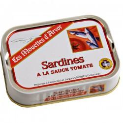 Sardines à la tomate 115g