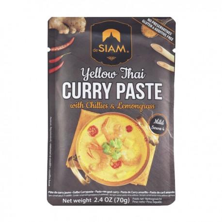 Pasta van geel curry 70g
