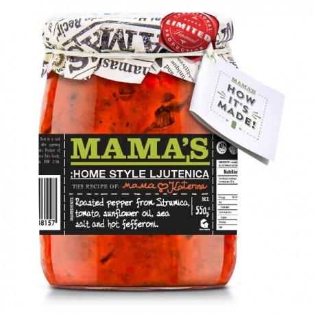 Ljutenica,Tomaten&Rode Paprikasaus 500g