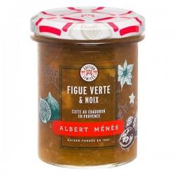 Confiture Extra de Figue Verte aux Noix 280g