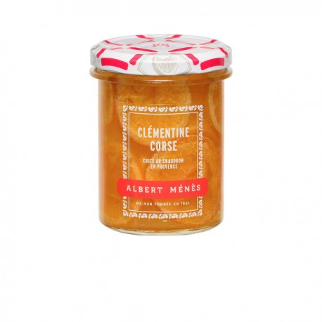 Marmelade de Clémentine Corse en Tranches 280g