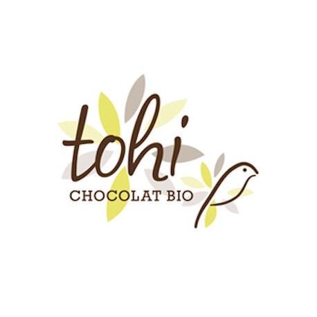 BIO Donkere chocolade 74% cacao met hazelnoten en koffie 70g