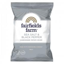 Zeezout en zwarte peper chips 150g