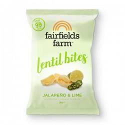 Chips aux lentilles Jalapeno et citron vert 20g