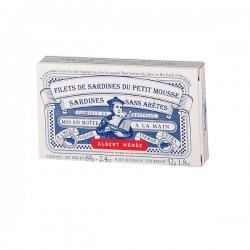 Sardines du Petit Mousse Sans Peau et Sans Arête 69 g