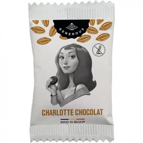 Cookies Flowpack - Charlotte Chocolat (104st.) BIO (glutenvrij) 850g
