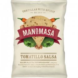 Tortilla chips Tomatillo Salsa met chilli & quinoa (glutenvrij) 160g