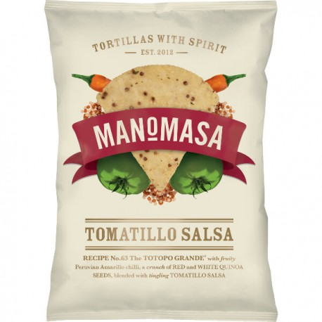 Chips Tortilla Tomatillo Salsa au chilli & quinoa (sans gluten) 160g