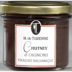 Chutney D'Oignon Au Vinaigre Balsamique 120 G