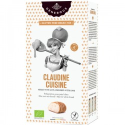 Claudine Cuisine - Mélange pour Pain blanc BIO (sans gluten) 500g