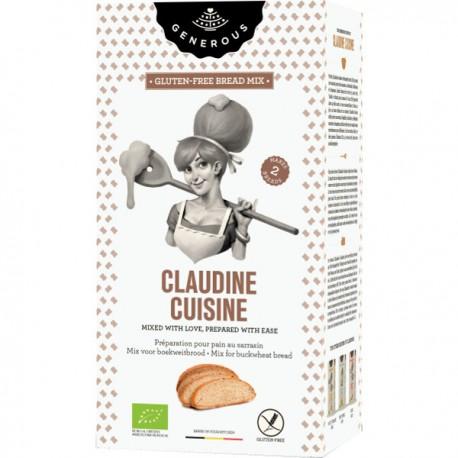 Claudine Cuisine - Mix voor boekweitbrood  BIO (glutenvrij) 500g